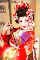 Maiko in Gion by drummerina