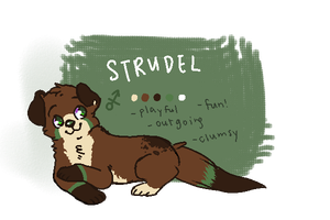 Strudel - DESIGN COMMISSION by fledglings