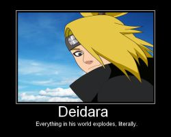Deidara by Dark-Emo-Raven