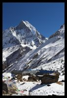 Annapurna Base Camp by fraughtuk