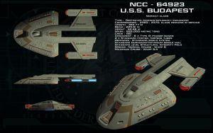 Norway Class ortho - USS Budapest by unusualsuspex