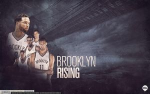 Brooklyn Nets Wallpaper by Angelmaker666
