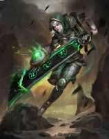 League of Legends Riven Redeemed by Timkongart