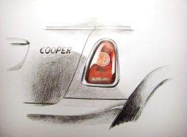 Mini Cooper by Zaidza