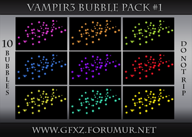 Vampir3 Bubble Pack #1 by VampireGFX
