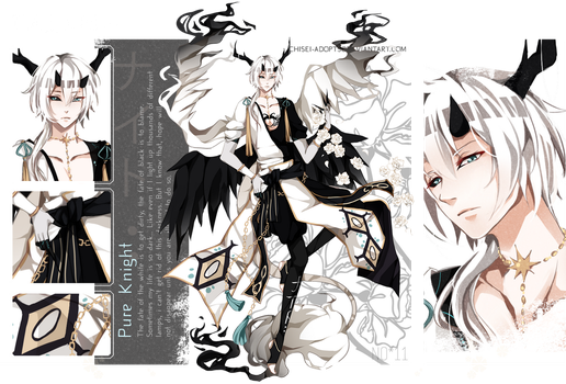 .:CLOSED:. Adoptable - TALUS Species #11 by chisei-adopts