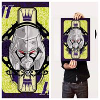 Megatron Limied run 16X20 hand finished print by rebelstardeviantarts