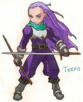 Teepo Breath of Fire III by queenofcats81