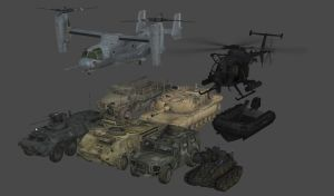 Modern Warfare Vehicles by redbaron7