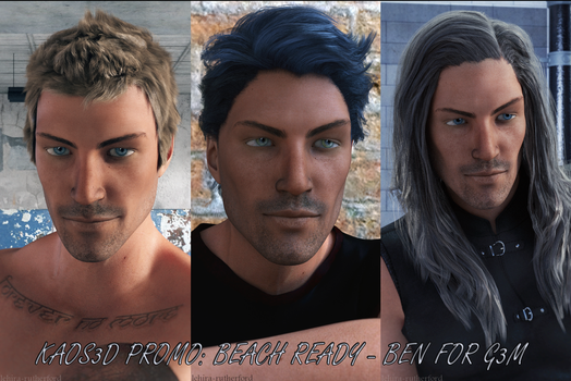 KAOS3D Promo - Ben for Genesis 3 Male by Lehira-Rutherford