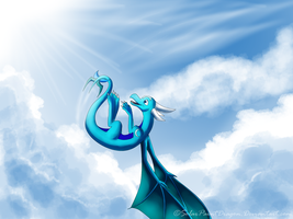 Skyscape by SolarPaintDragon