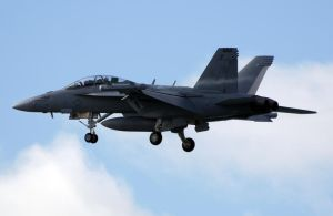 Boeing EA-18G Grolwer Landing by shelbs2