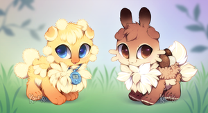 Easter Munchkin Nekoi Auction (OPEN) by Kawiku