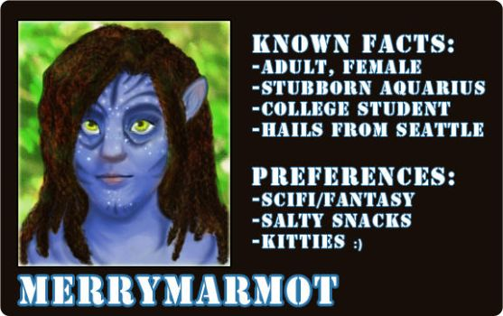 Avatar ID by merrymarmot