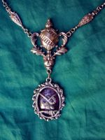 Neo Victorian Owl Amulet by xxAlexaBlack