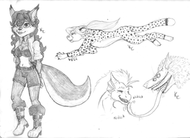 Misc Sketches by SnookumsGal