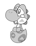 yoshi by EnderTrouble