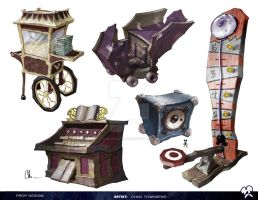 Epic Mickey 2 Prop Design 01 by ChadTHX1138