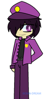 Purple Guy FNAF AU design by 0CEAN-DREAM