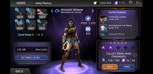 Wonder Woman: Defender of Justice from DC Legends by Curia-DD