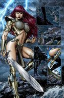 Red Sonja 41 page 18 by wgpencil
