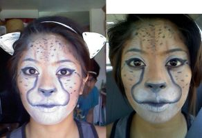 Stage Makeup: Animal by annam3lissa