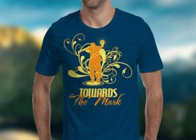 Towards the Mark T-Shirt Template by loswl