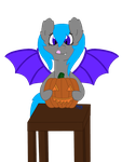 Pumpkin Carving Perky by pyrmappege