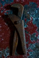 Rusty tool 1 by Quinnphotostock