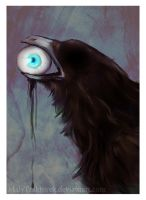Blind Crow Can See You by Traktorova