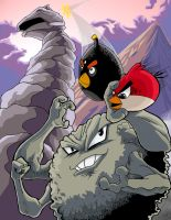 Angry Birds VS. Rock Pokemon by SemajZ