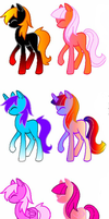 My Little Pony FREE Adoptables- CLOSED!! by Lucid-Adoptables