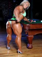 Superthick Mindy by GrannyMuscle