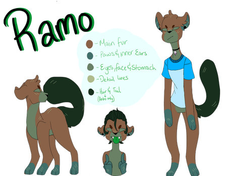 Ramo ref by Illiterate-Swine
