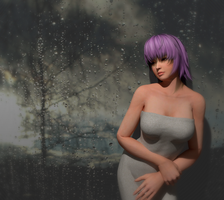 Rainy Day (window) Blender Render 4 by OTsunaO