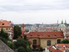 View from the Castle Prague  2 by IsK4nD3R