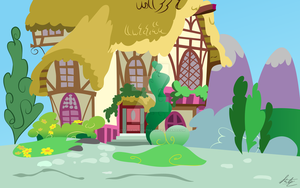 Pony House by kittyhawk-contrail