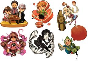 some new AA keychains!! by stupah