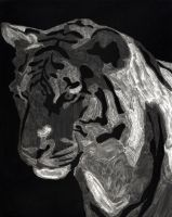 cliche verre tiger by HappyLittleJen
