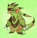 My Idea of the Final Chespin Evolution by Zandight