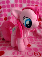 .: Pinkamena plush :. by Fallenpeach