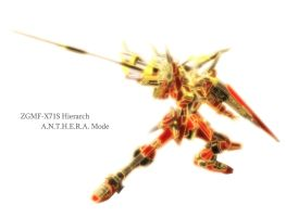ZGMF-X71S Hierarch by SSGHayabusa
