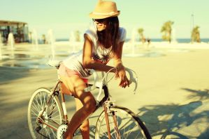Velo girl by IlonaShevchishina