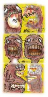 Teeth Monsters by justinaerni