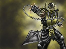scorpion by Ryancy