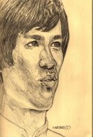 Bruce Lee Sketch by amartires