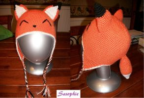 Fox beanie by Sasophie