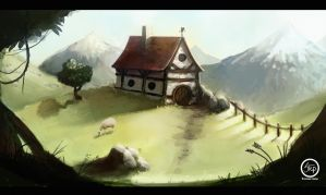 sheep land by tranenlarm