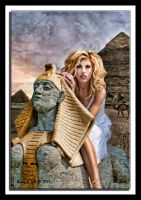 Tami at the pyramids by photoman356