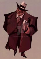Al Capone - for character illustration group by Dyadrov